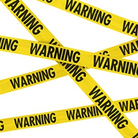 Warning Tape and Labels