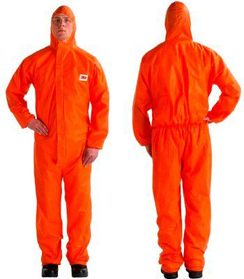 3M 4515 Orange Type 5/6 Coverall - Size L Pack of 20