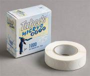 Camlab Plastics Tubee's Micryo White Dots 19mm diameter reel of 1000 from Camlab