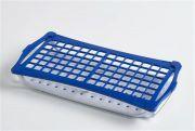Camlab Plastics 2 Tier Rack For 13mm diameter - 1.5 / 2ml tubes - Blue  from Camlab