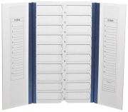Camlab Choice Slide Folder 20-Place with Inventory Sheet Pack of 10 in Storage Box from Camlab