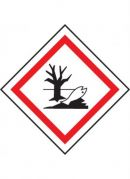 GHS-09 Hazardous to the aquatic environment labels, 50mm x 50mm, roll of 250 labels