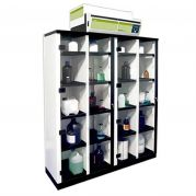 Captair 1634 Midcap with 1x 5 spill-proof shelves, 1x pull out doors-B03SA/1122-Camlab