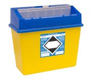 FM4180BL 30L Sharpsafe® sharps container with Blue Lid