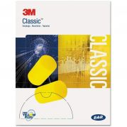 E-A-R Classic 5 Pairs Ear Plugs Pack of 250 X 4-camlab