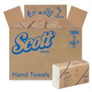 1804 SCOTT  Hand Towels - Multifold/Medium - White - 16 x 250 Sheets