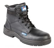 5114 Himalayan Black Safety Boots