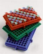 Camlab Plastics XY Reversible rack with Grid Reference Markers from Camlab