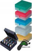 Camlab Plastics 100 Place Freezer Box from Camlab