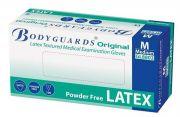 Bodyguards Original Powder Free Latex Disposable Gloves AQL 1.5-camlab