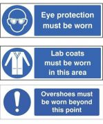 PPE Personal Protective Equipment Signs