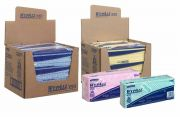WYPALL X50 Cleaning Cloths - Interfolded - 6  x 50 Sheets
