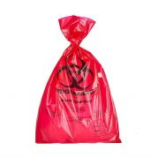 Camlab Choice Red biohazard autoclave bags 400x780x0.05mm Pack of 500 from Camlab