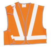 RT21 Orange Hi-Vis Short Jacket