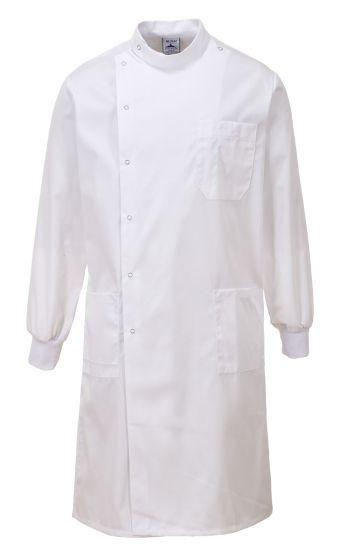 C865 Portwest Howie Laboratory Coats - Premium White