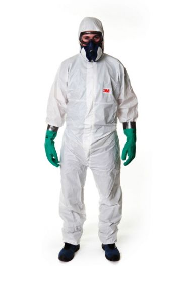 4545 Coverall White Type 5/6 Size XXL Pack of 20