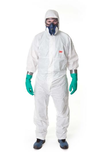 3M 4545 Coverall White Type 5/6 Size XL Pack of 20