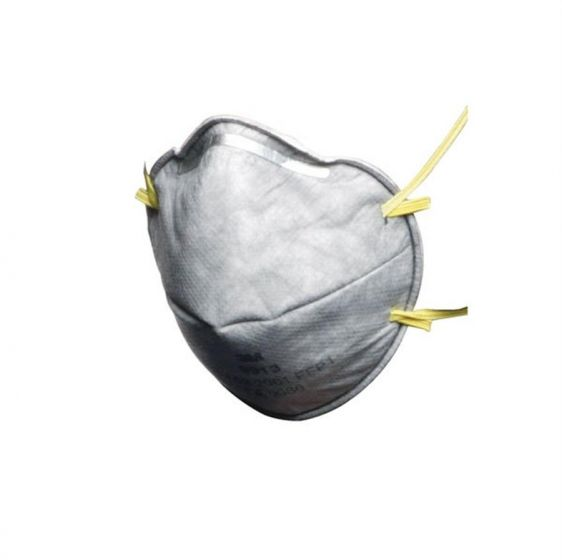 3M 9913 FFP1 Cup-Shaped Unvalved Dust/Mist/Nuisance Odour Respirator - Pack of 20-camlab