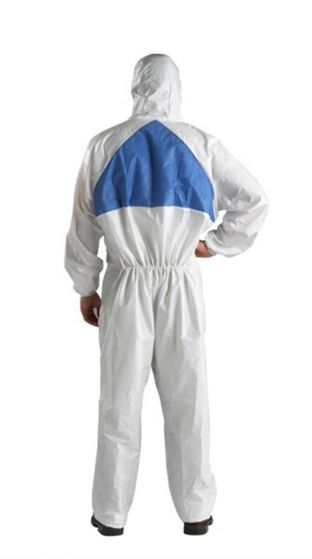 4540+ Coverall White+Blue Type 5/6 Size XL Pack of 20-4540WXL-Camlab
