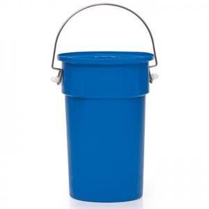 Blue MDPE Nesting Bucket - 22.5L