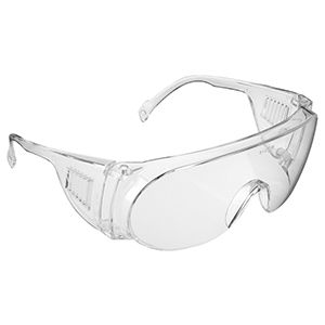 M9200 Clear Polycarb Visitor Spectacles Per Pair
