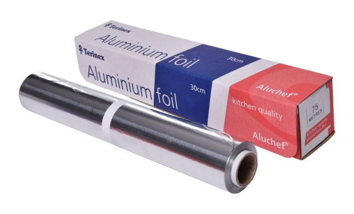 Aluminium Foil Roll - 300mm x 75m