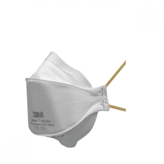 3M™ 9310+ Aura FFP1 Unvalved Dust/Mist Respirator Pack of 20