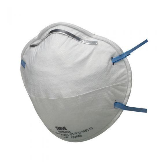 3M™ 8810 Unvalved Dust/Mist Respirator FFP2 Pack of 5 X 8 (total 40)