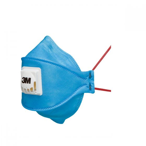 3M 9432+ Aura FFP3 Fold-Flat Valved Dust/Mist/Fume Respirator - Pack of 10