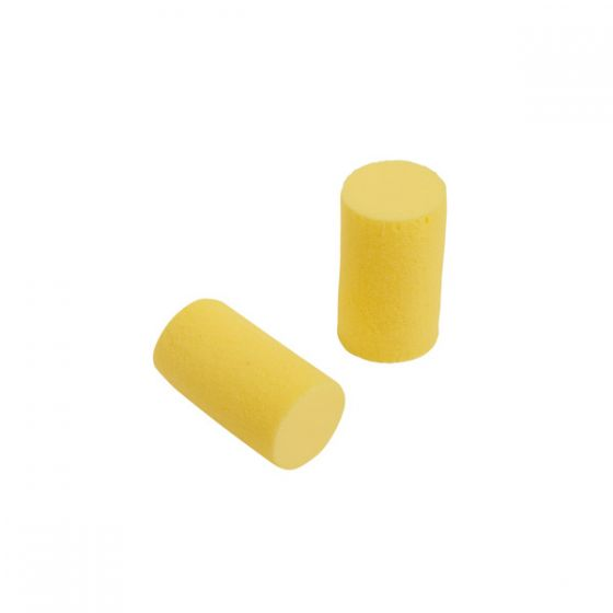 E-A-Rsoft Yellow Neon Corded Ear Plugs Pack of 200 X 10