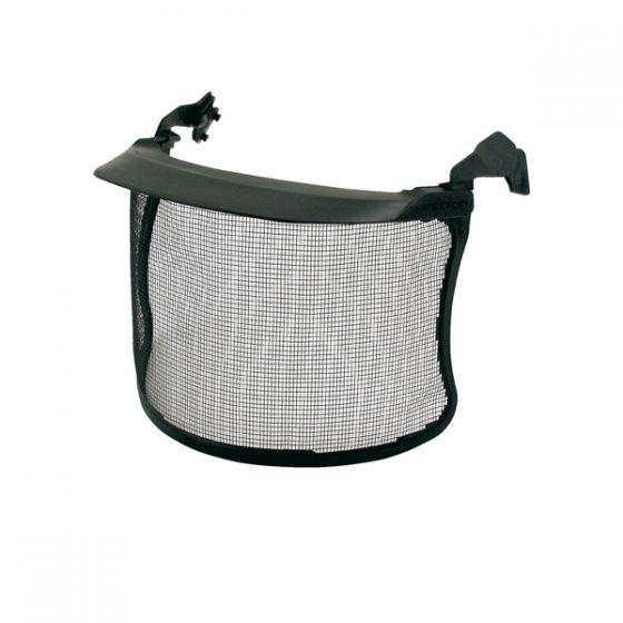 Black Mesh visor stainless steel 1.8 x 2.5mm short peak Pack of 10