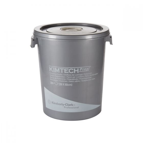 7213 KIMTECH Polishing Cloths - 300 Sheet Bucket
