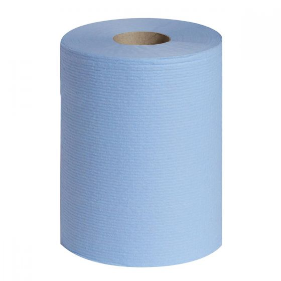 7412 WYPALL L20 Wipers - Small Roll - Blue - 12 x 200 Sheets
