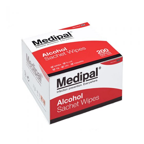 Medipal Sterile Single Sachet 100 - 200mm x 125mm Case of 10