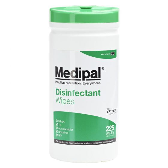 Medipal Disinfectant Wipes - Alcohol Free