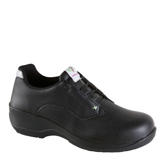 2502 Toesavers Black Ladies Safety Shoes