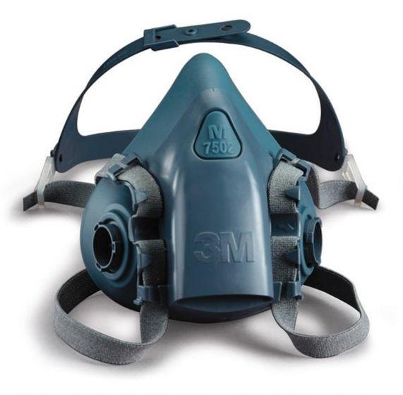 3M™ 7502 Silicone Half Mask - Medium-camlab