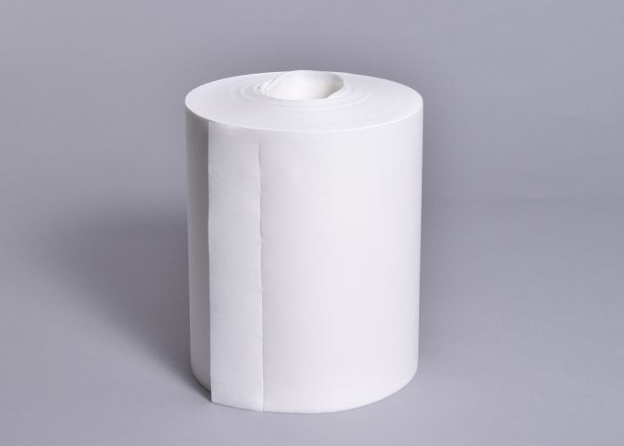 """83052 Doric 11X8"""" White C/Feed Roll Pack of 6x300 Wipes-83052-Camlab"""