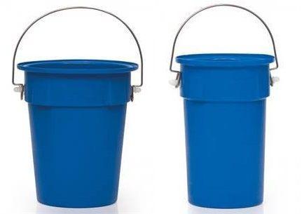 Blue MDPE Nesting Bucket