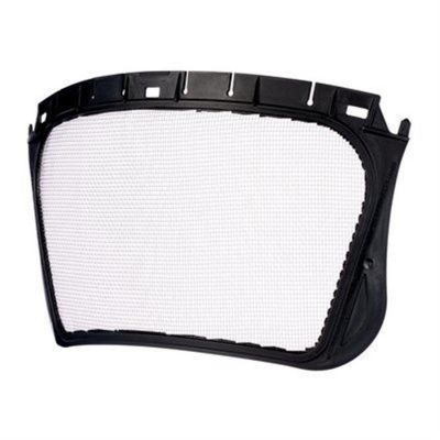 5J-1 Mesh Face Shield Stainless steel 'etched' - Black Stainless Steel Mesh Etched Pack of 10