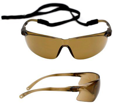 Tora PC bronze lens w / AS+AF coating and spec-cord Pack of 20