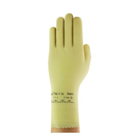 Ansell Duzmor Light weight Unflocked Chlorinated Fishscale Glove 87-600
