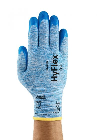 11-920 Ansell Hyflex Glove - 9.0 Pack of 12
