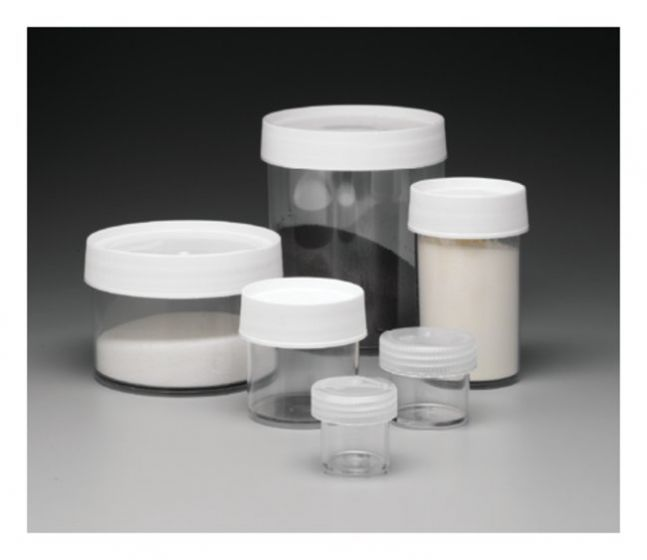500ml Straight-Side Wide-Mouth Jar PC - Pack of 4