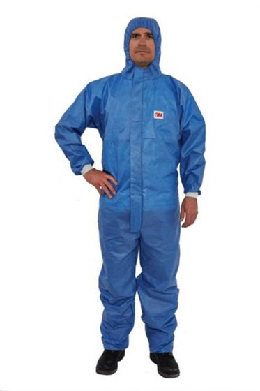 3M 4532+ AR Coverall Blue Type 5/6 Size XXXL Pack of 20-camlab