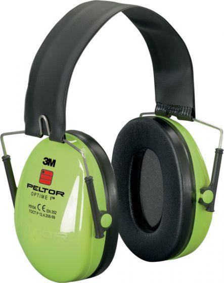 PELTOR Optime I Ear Muff Folding Hi-Viz Pack of 10