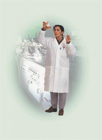 96740 Kimtech Science A7 Laboratory Coat - White/XXL - 15 Coats