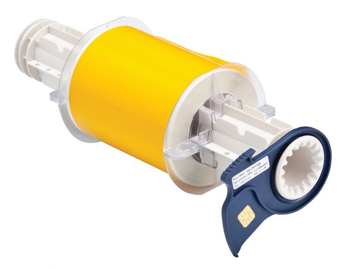BBP85 and PowerMark Vinyl Tape - Yellow - 100mm - 1 Roll
