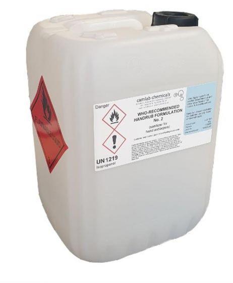 10L Hand sanitiser bulk pack without dispenser-1012-EA-01-Camlab