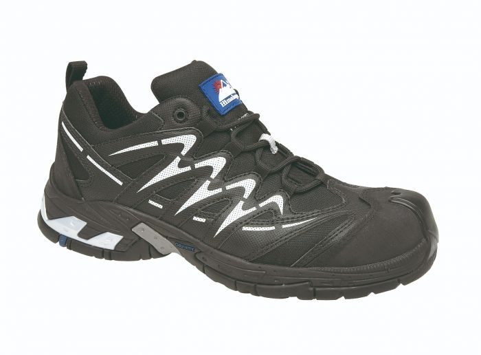4034 Himalayan Black Safety Trainers